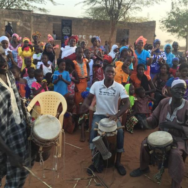 Fatoumata Niang Bâ, présidente de l'UDES/R, accueillie en grande pompe à Sindian