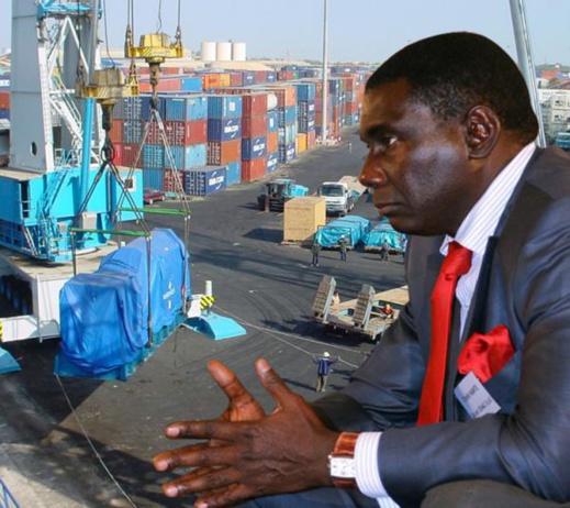 Cheikh Kanté, gérant de la société avec laquelle le Port a signé une convention de partenariat avec 1 milliard de capital (Exclusivité leral)