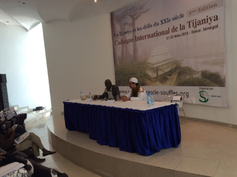 Colloque International sur la Tidjanya: Dakar capitale du soufisme les 21 et 22 mars 2015