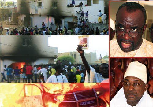 Assane Mbacké n'a jamais assisté à l'incendie du domicile de Cissé Lô, selon son avocat