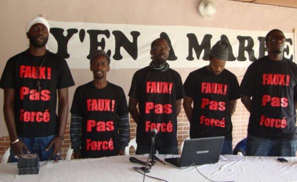 Arrivée de Fou malada, Fadel Barro et Aliou Sané au bercail : Y en a marre mobilise