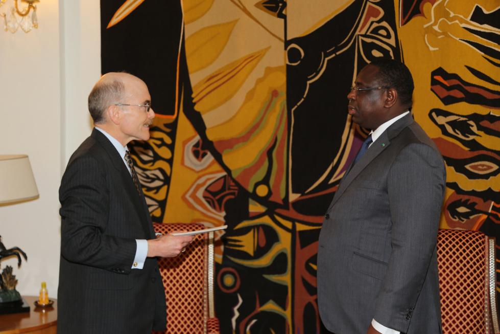 Après la France, les Usa s'immiscent dans l'affaire Karim:  L'Ambassadeur James P. Zumwalt reçu par Sidiki Kaba, bénit la procédure contre Wade fils