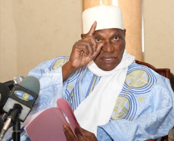 """Me Wade sur la tension politique : """"Il parait que l'Apr ne dort plus ; ses membres voient partout la main de Abdoulaye Wade"""""""