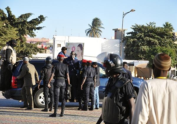 Les partisans de Karim Wade manifestent à la rue 6 de la Médina