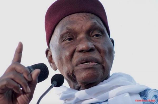 """Abdoulaye Wade : """"Le verdict est politique, il faut se mobiliser pour une réponse politique"""""""