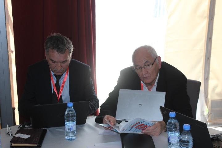 Jean Pierre Boissin et Zahir Yanat