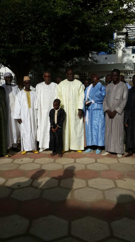 Le maire de Geule Tapée-Fass-Colobane et sa délégation à Ndindi chez Serigne Djily Fatah Mbacké