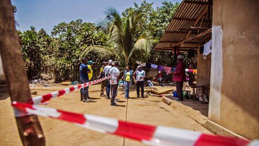 Guinée: L'épicentre d'Ebola s'est déplacé