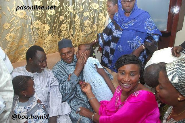 Présentations de condoléances aux familles de feue Sokhna Bintu Mbacké Massamba , feue Fatou Cisssé et de feu Mamadou Niang ancien Président de la Section Pds des Parcelles Assainies