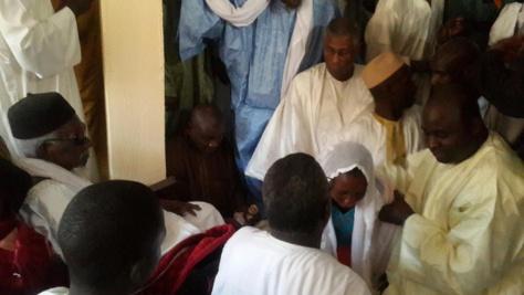 Serigne Djily Fatah reçu par Serigne Sidy Mokhtar et Serigne Mountakha Mbacké