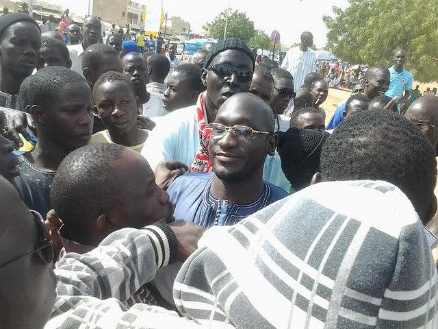 Maison d'arrêt et de correction de Diourbel: Serigne Assane Mbacké reçoit la visite de responsables du Front patriotique