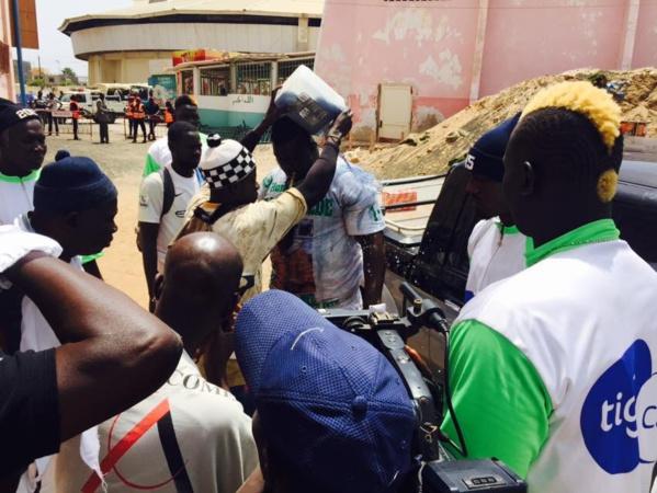 Photos - Balla Gaye 2 est déjà au stade Demba Diop