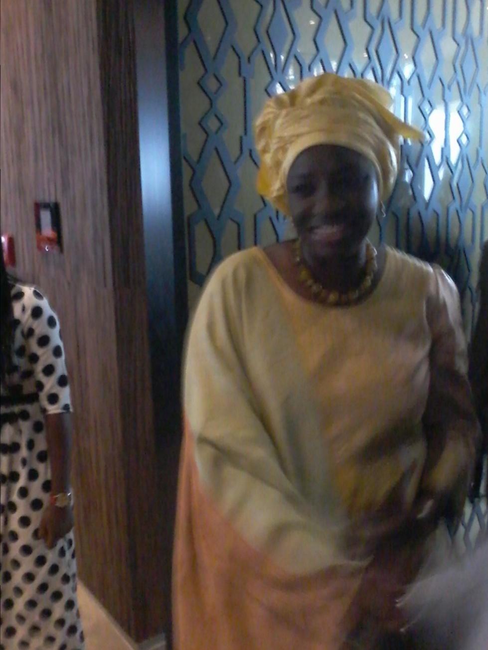 Aminata Touré, envoyée speciale du Président