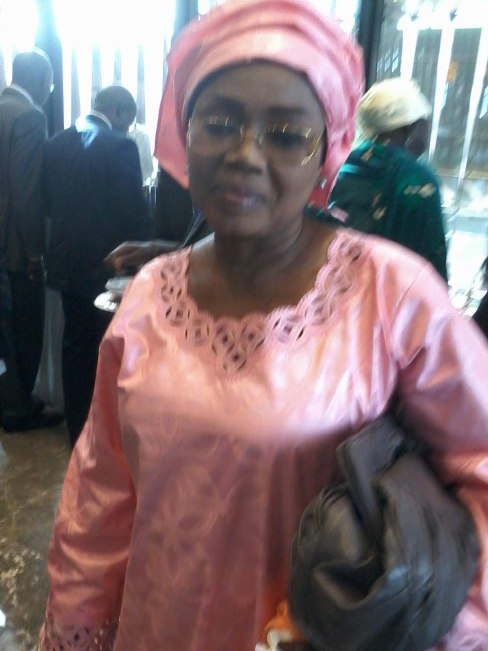 Mariame Badiane, ministre conseillere