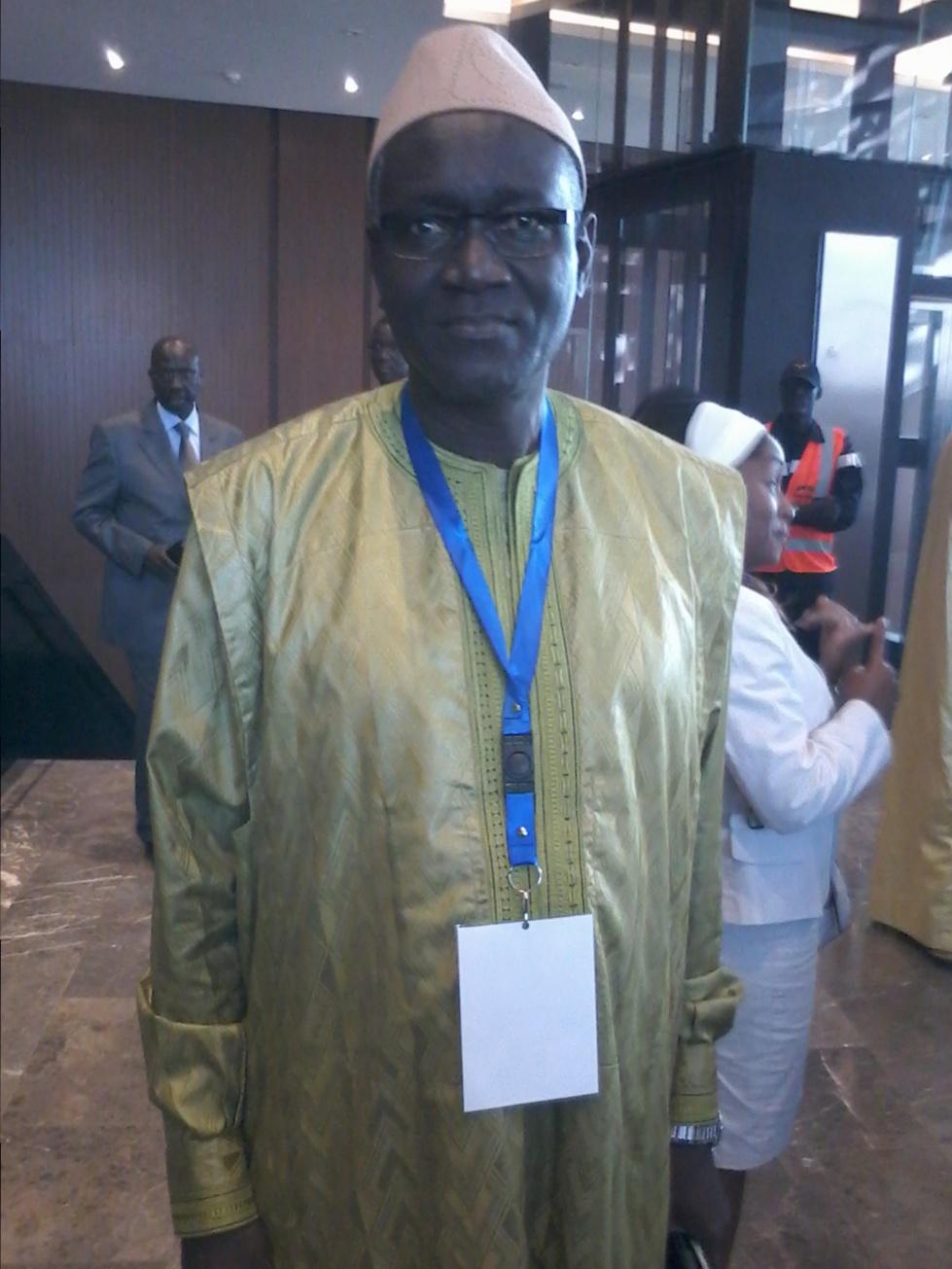 Mansour Sy, ministre du Travail et du Dialogue social