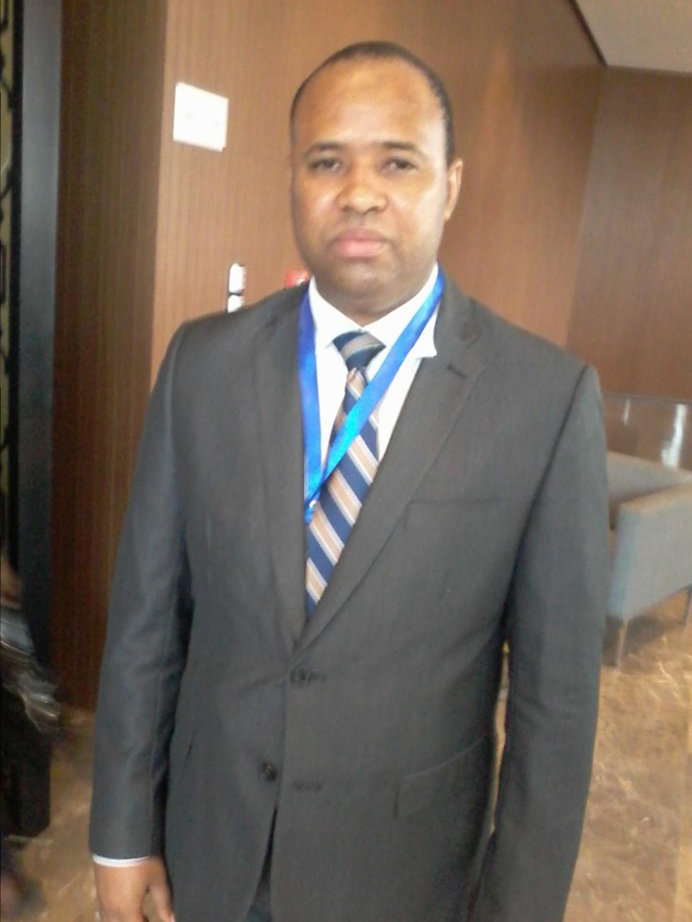 Abdoulaye Bibi Baldé, ministre de l'Environnement et du Développement durable