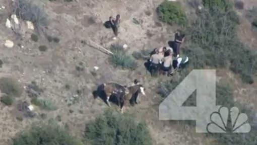 La vidéo honteuse de onze shérifs battant un fuyard