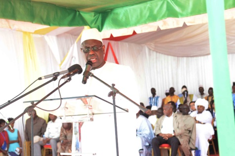 Réduction de son mandat: Macky Sall appelle ses partisans à taire ''les débats stériles''