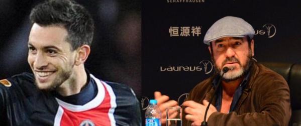 """Eric Cantona : """" Javier Pastore est le meilleur joueur du monde """""""