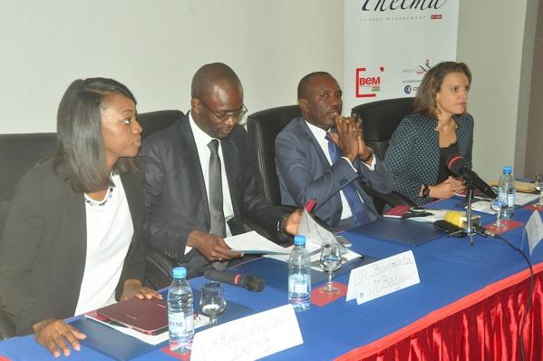Khadidiatou Dieng Sy, Boucounta Mbaye, Madické Diop et Hélène Dumoulin Diop