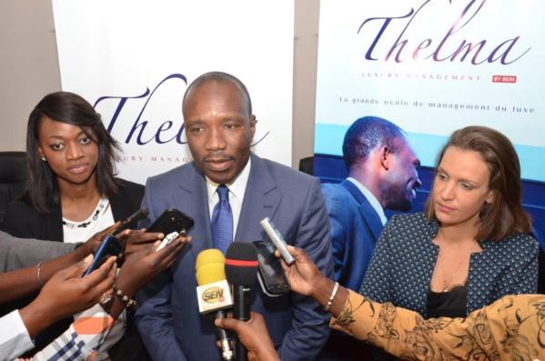 Mr Madické Diop répond aux questions des journalistes