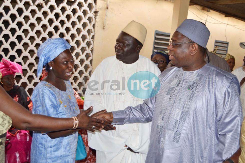 Macky Sall drague les chefs religieux de Kaolack : Ce mardi, le Président était chez le Khalife de la famille kanène de Léona