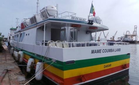 Liaison maritime Dakar-Rufisque : Mame Coumba Lamb sera bientôt en service
