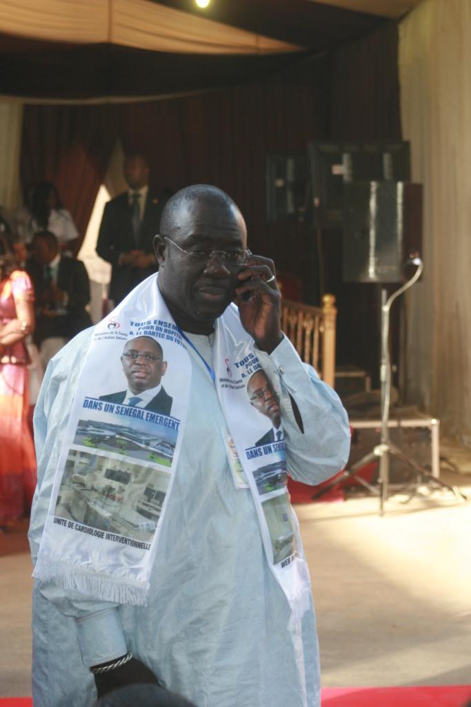 Khadim Samb travaille pour la réelection de Macky Sall
