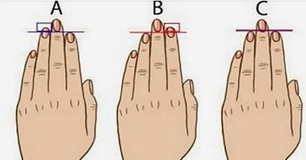Voilà ce que vos mains et la longueur de vos doigts révèlent sur votre caractère... Impressionnant !