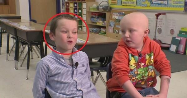 Un enfant découvre que son meilleur ami souffre du cancer. Avec tout ce qu'il a fait ensuite, il est devenu mon Héros !