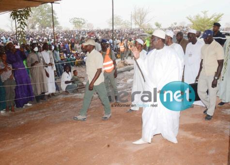 Macky Sall salue les pelerins