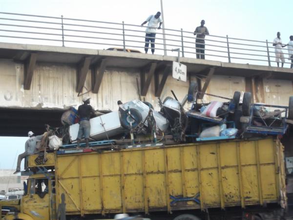 """Le pont """"Sénégal 92"""" dynamité, ce week-end"""