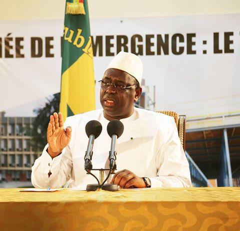 Sur la conférence de presse du Président de la République à Kaffrine