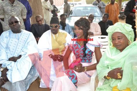 Les images du mariage de la fille de Mbagnick Diop avec le mannequin Baye Bia. Regardez