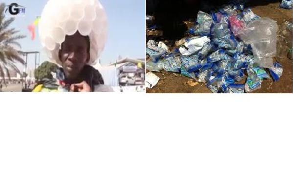 Malgré le vote de la loi interdisant les sachets, « l'homme plastique » continue le combat