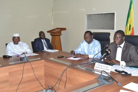 Cheikh Oumar Seck du Comiac et Aliou Dramé du MAESE