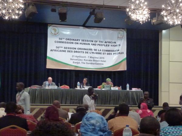 Banjul : Le Sénégal vilipendé devant la 56éme commission africaine des droits de l'homme et des peuples