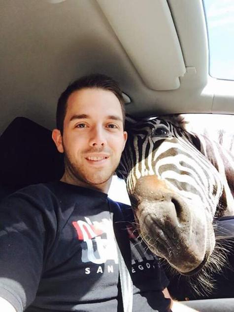 Il réalise le selfie de sa vie