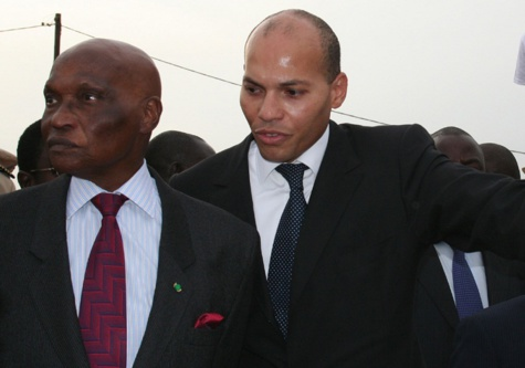 Rebeuss: Me Wade s'entretient avec son fils Karim