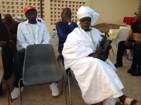 Dial Mbaye, cantatrice attitrée d'El hadji Malick Sy