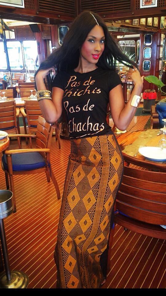 Le look d'enfer de Maty Diouf, la petite fille du Président Abdou Diouf