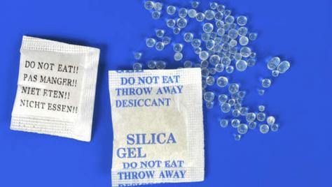 Que faire de vos sachets de gel de silice?