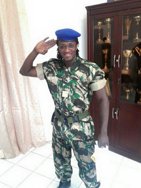 Le chanteur Birahim devient un gendarme