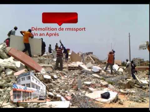 Démolition de l'immeuble de la Sipres : l'histoire donne raison à ceux qui avançaient la thèse politicienne... ( Mairie Grand Yoff)