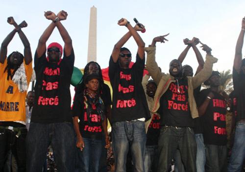 Le préfet interdit le sit-in de «  Y en a marre » devant l'ambassade du Congo
