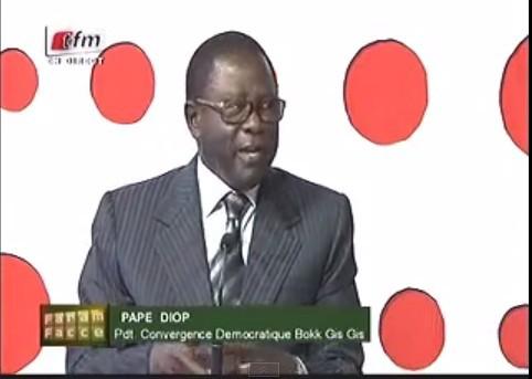 """Pape Diop: """"Billahi, Wallahi, je n'ai transigé avec qui que ce soit, ni remis aucune somme à quelqu'un"""" (Vidéo)"""