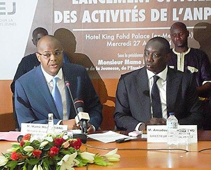 ANPEJ: Amadou Lamine Dieng ne veut plus être sous la tutelle de Mame Mbaye Niang