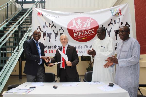Marathon international de l'Autoroute Dakar en février 2016 : Dix mille coureurs attendus sur l'autoroute à péage