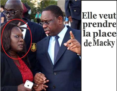 """Ndela Madior Diouf : """"Mon objectif c'est d'être Présidente de la République du Sénégal"""""""