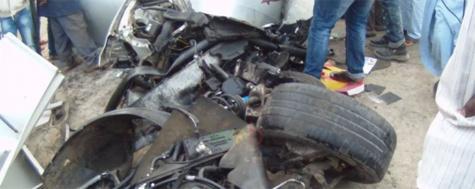 Grave accident sur l'autoroute : 2 morts et 3 blessés graves